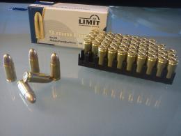 9mm Luger 124grs FMJ CuZn10  - zvětšit obrázek
