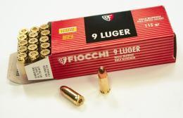Fiocchi 9mm Luger - zvětšit obrázek